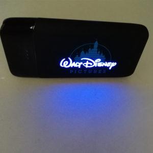 Glow logo power bank